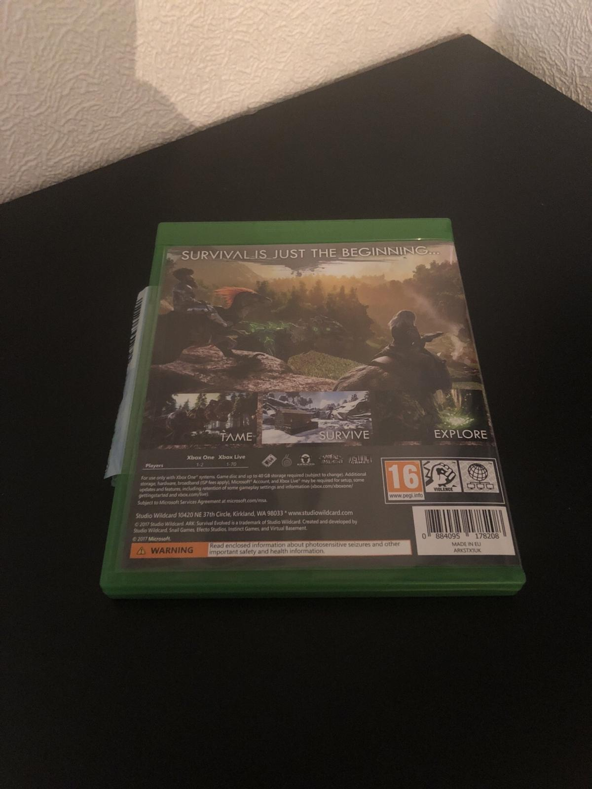 ARK survival evolved Xbox one edition