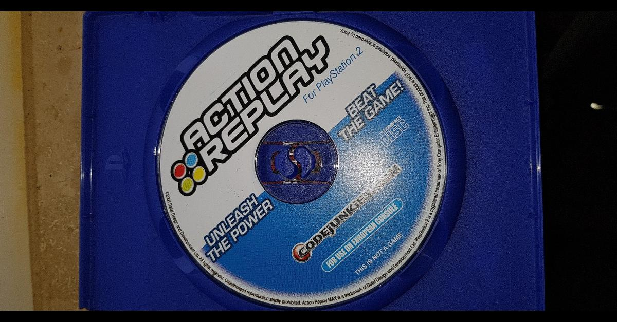Action Replay MAX PS2 50 000 CHEATS TOP in 53797 Lohmar für € 16,50