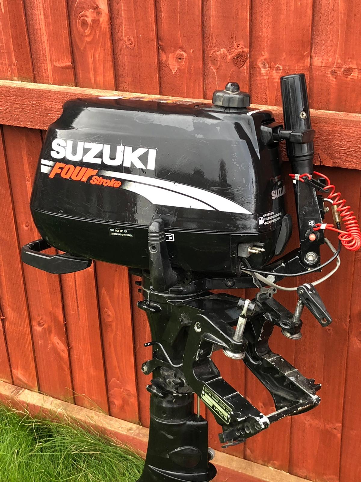Suzuki DF6 4 stroke outboard motor in Selby for £475 00 for sale