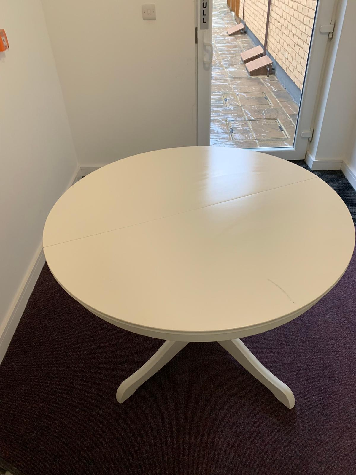Ikea Round Extendable Dining Table Ingatorp In Sw11 Wandsworth Fur 45 00 Zum Verkauf Shpock De