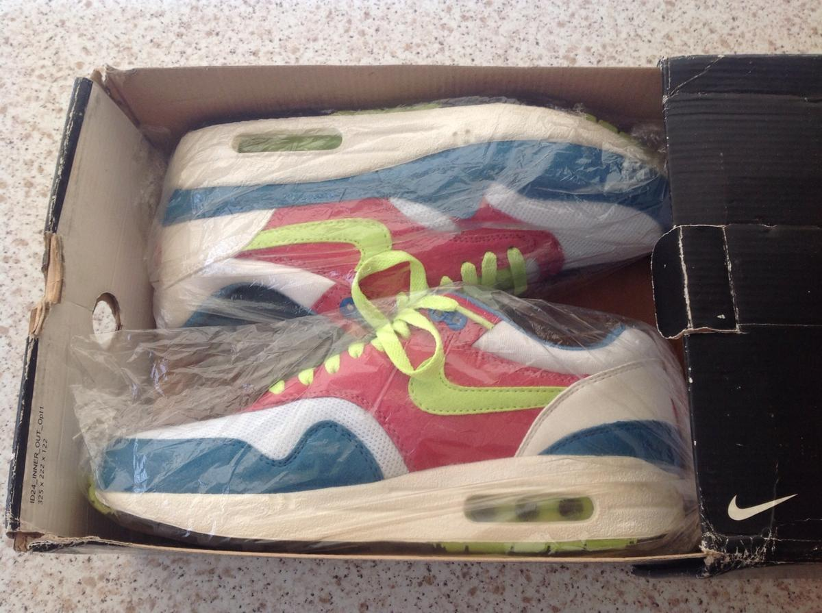 cheap for discount 06fa2 647f2 NIKE ID AIR MAX 1 SIZE UK 8.5