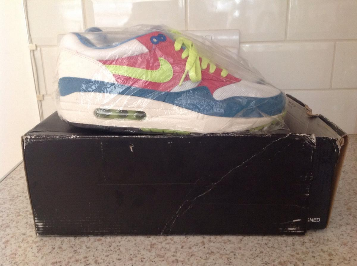 NIKE ID AIR MAX 1 SIZE UK 8.5 in SW2 Lambeth for £90.00 for