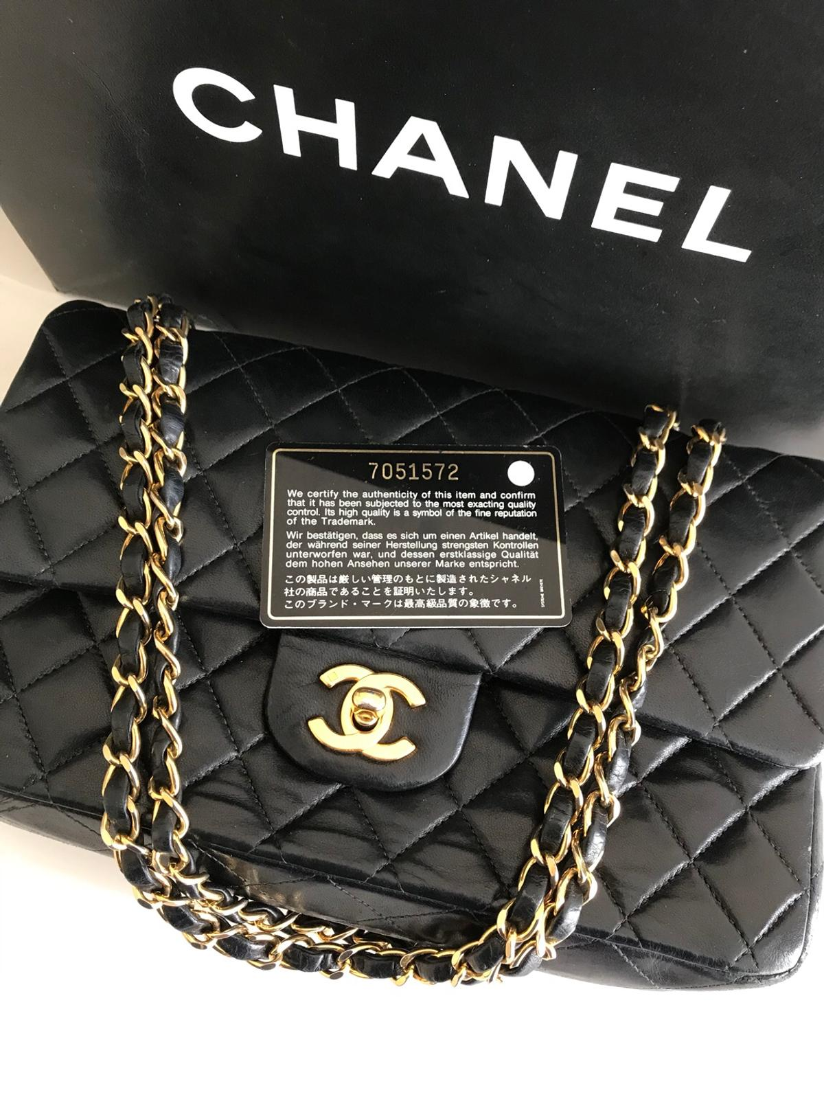 494984d2c7adaf Chanel Classic Double Flap Bag Genuine Authen in FY4 Fylde for ...