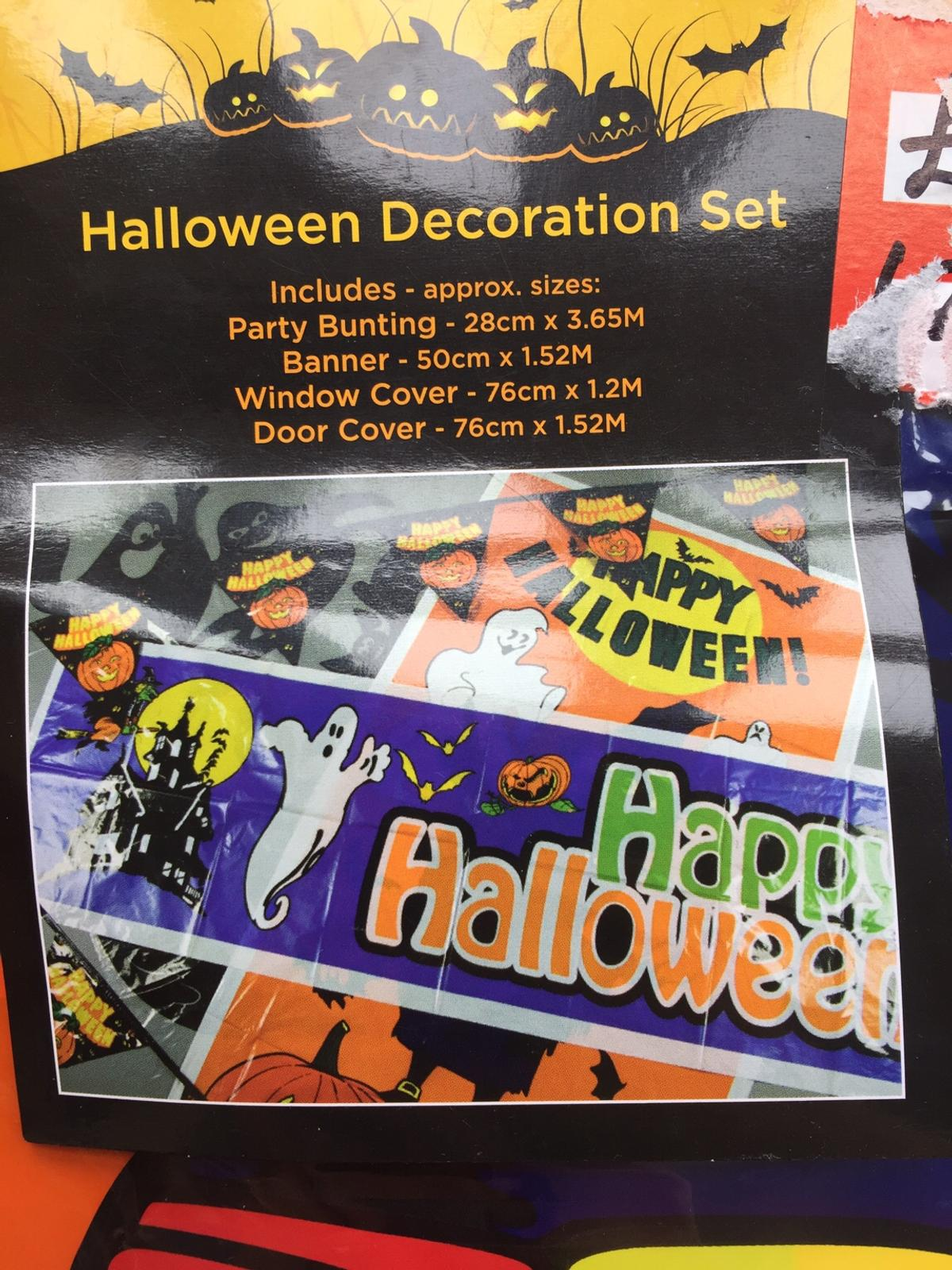 Premier Halloween Party Decorations & Plates in NG18