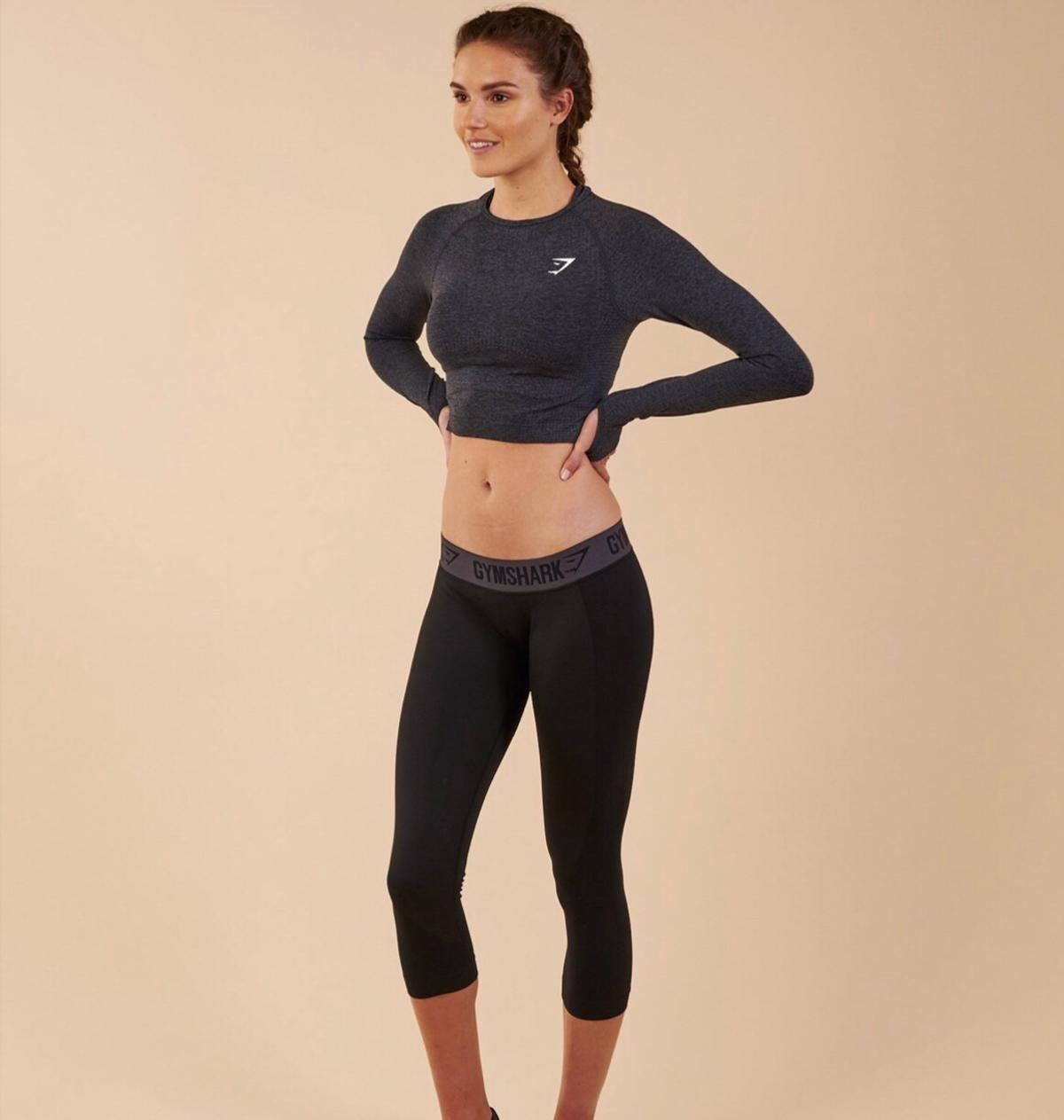 e664bb0f619092 Gymshark - vital seamless long sleeve crop to in 75644 Uppsala for ...
