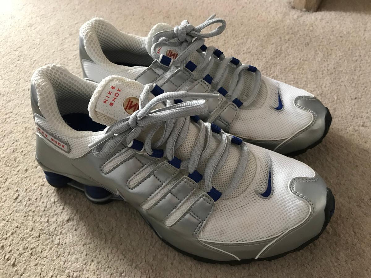 outlet store e7cb6 5265a Description. Nike shox trainers - size 5.5 uk