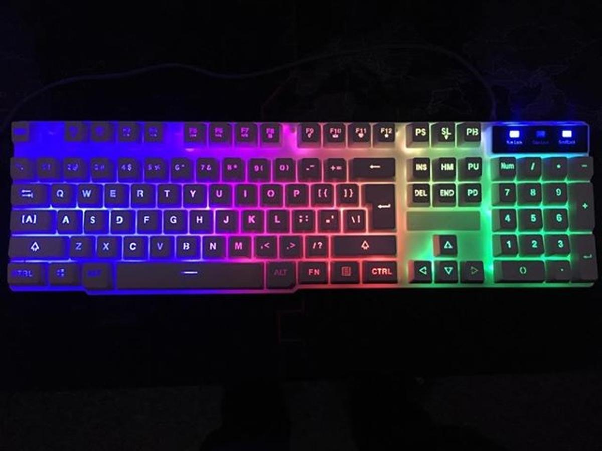 Kuyin Backlit Gaming Keyboard+Mouse in E9 Hackney for £30 00 for