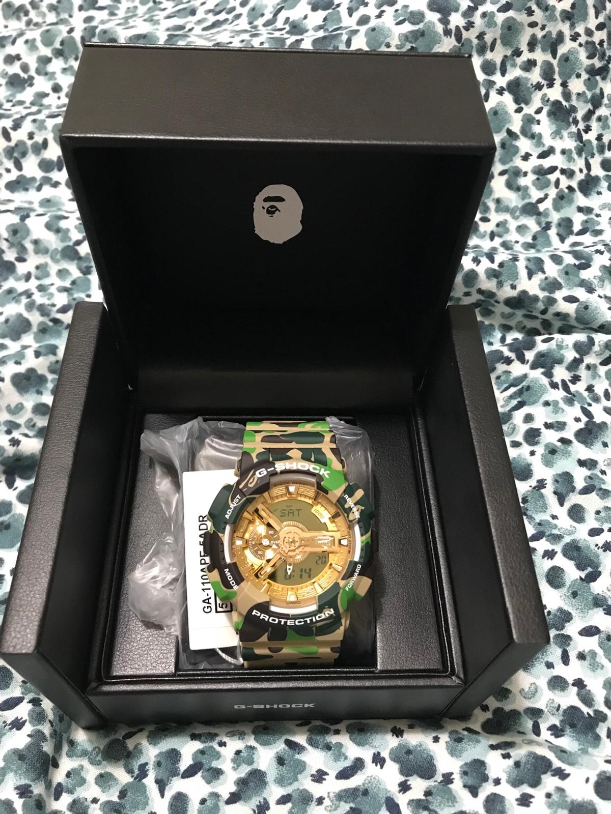 0fb211ea6 Bape x G-shock watch limited edition!!! in W1S Westminster for ...