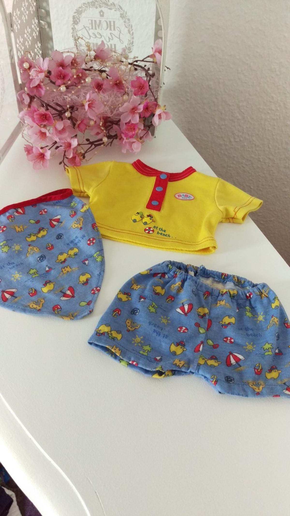 Baby Born Am Strand Outfit