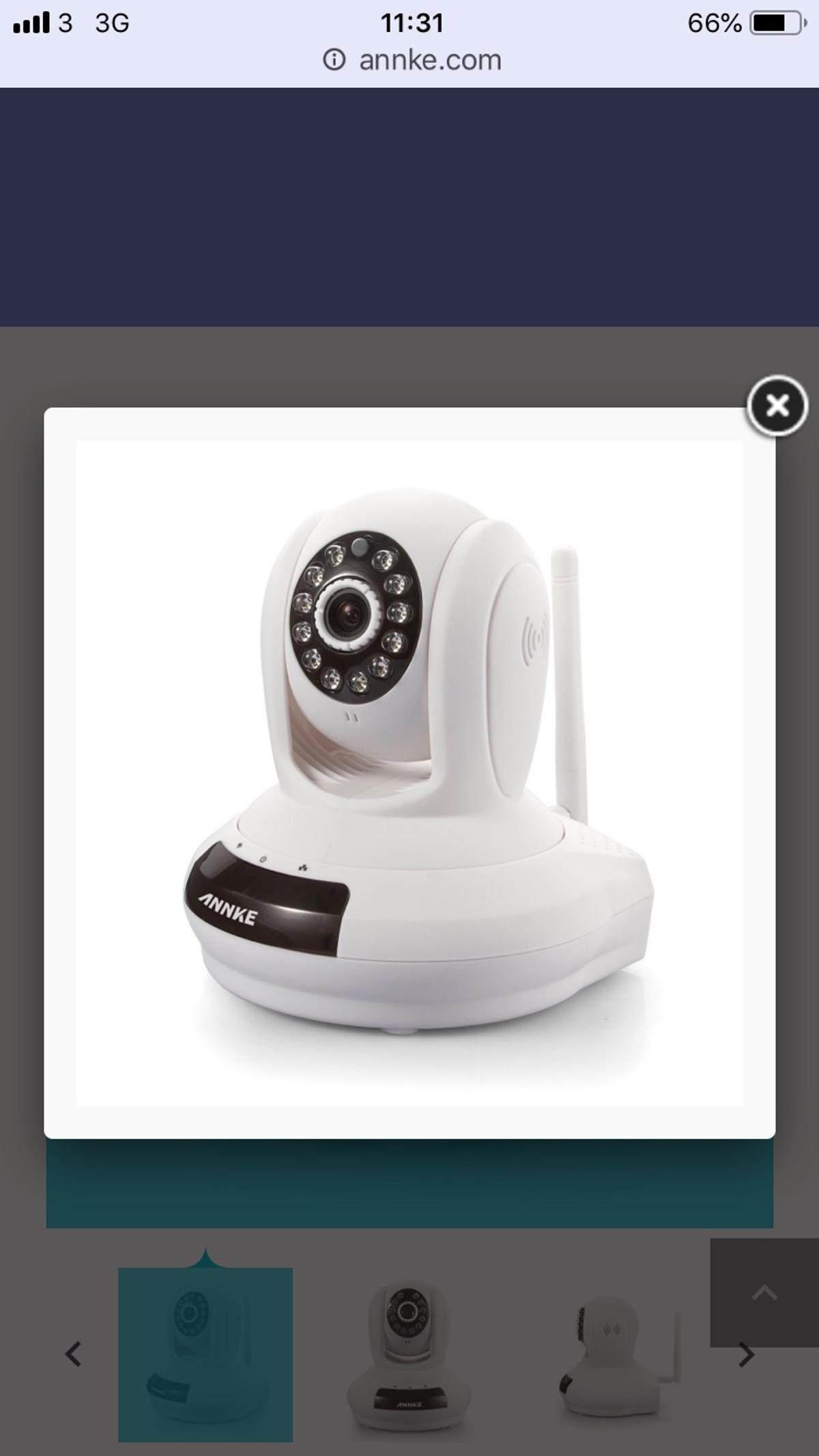 Annke SP1 HD Wireless IP Camera in L14 Liverpool for £20 00
