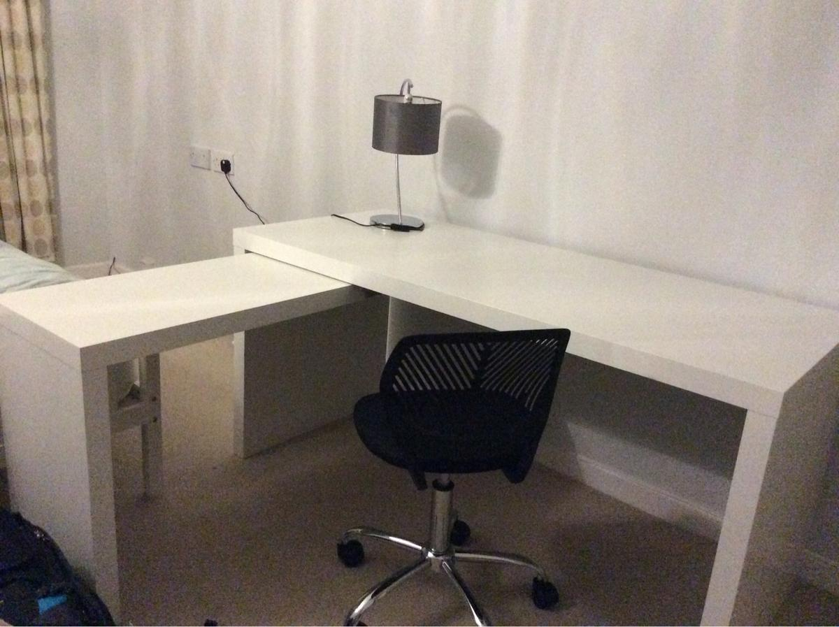 IKEA Malm Desk With Pull Out Panel In GU22 Woking For £50.00 ...
