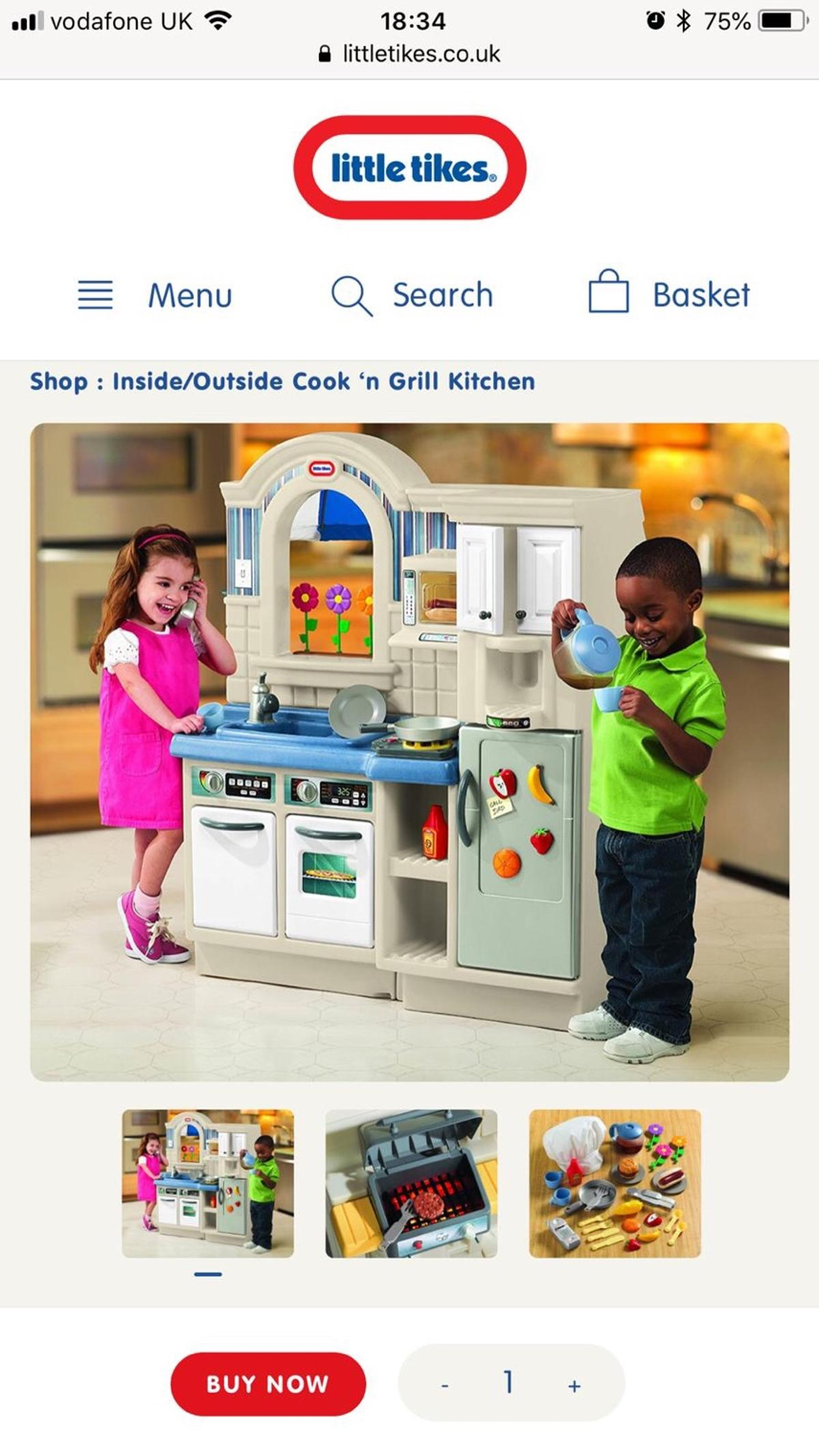 Little Tikes Cook N Grill Kitchen Cheap Toys Kids