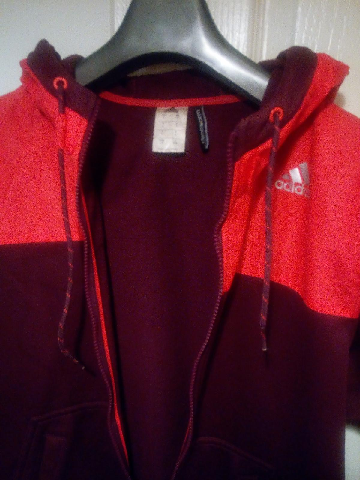 premium selection 3049c 4fabb Mens Jacket Adidas Hoodie Climacool L Large