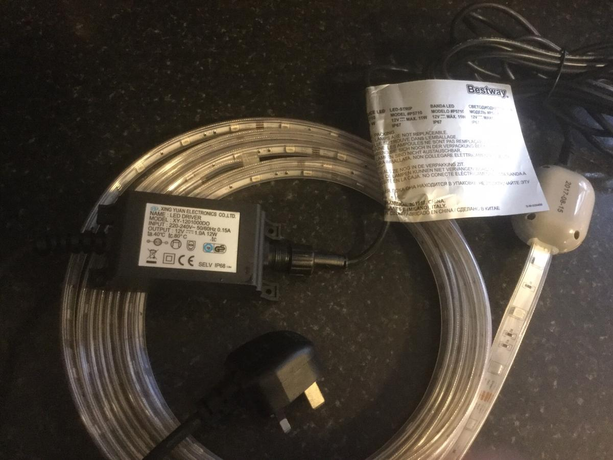 Bestway Lazy Spa Led Strip Lights In Ws10 Sandwell For 35 00 For