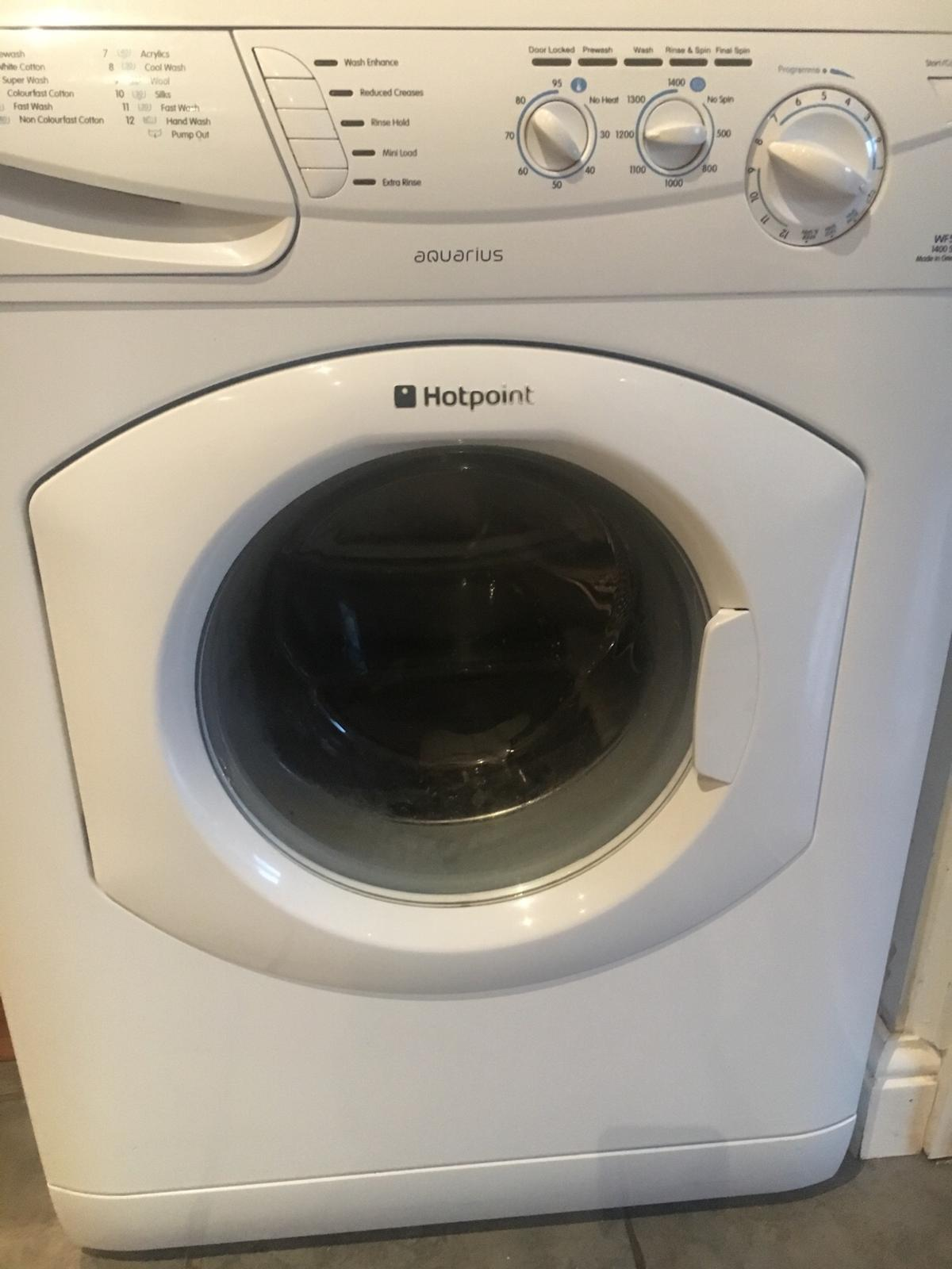 6kg Hotpoint Aquarius Washing Machine in WN4 Wigan for £30 00 for