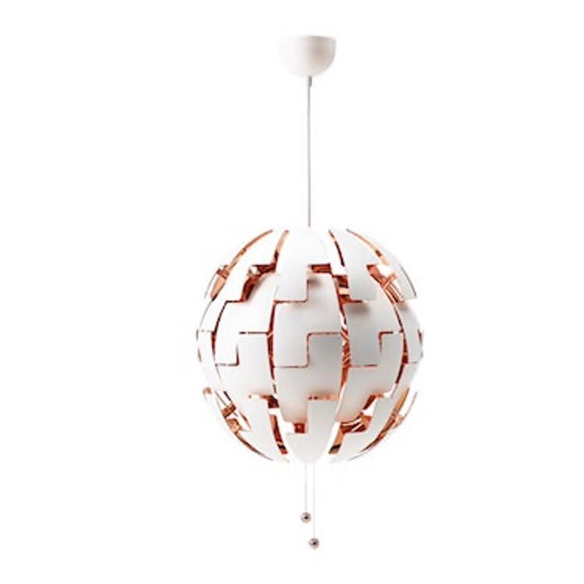Ikea Copper White Pendant Light Xl In