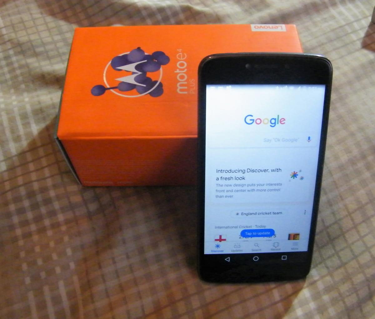Motorola Moto E4 Plus *Unlocked* in TN39 Rother for £60 00