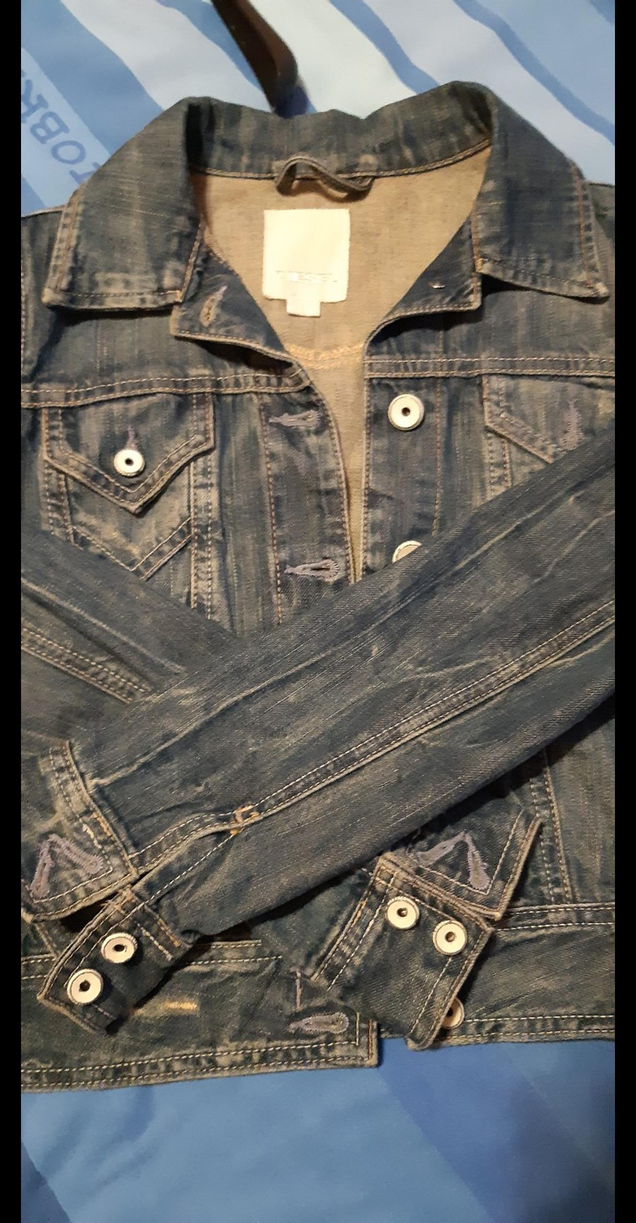 official photos 4876e d8813 GIUBBOTTO JEANS DIESEL in 00145 Roma for €30.00 for sale ...