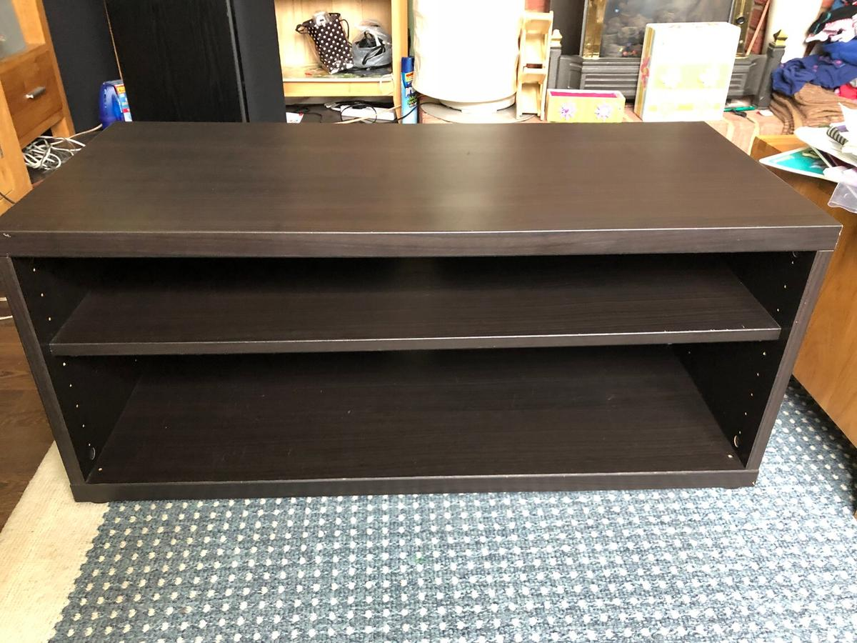 Fine Mosjo Ikea Tv Unit Cabinet Bench Table Brown In Ec3V For Alphanode Cool Chair Designs And Ideas Alphanodeonline