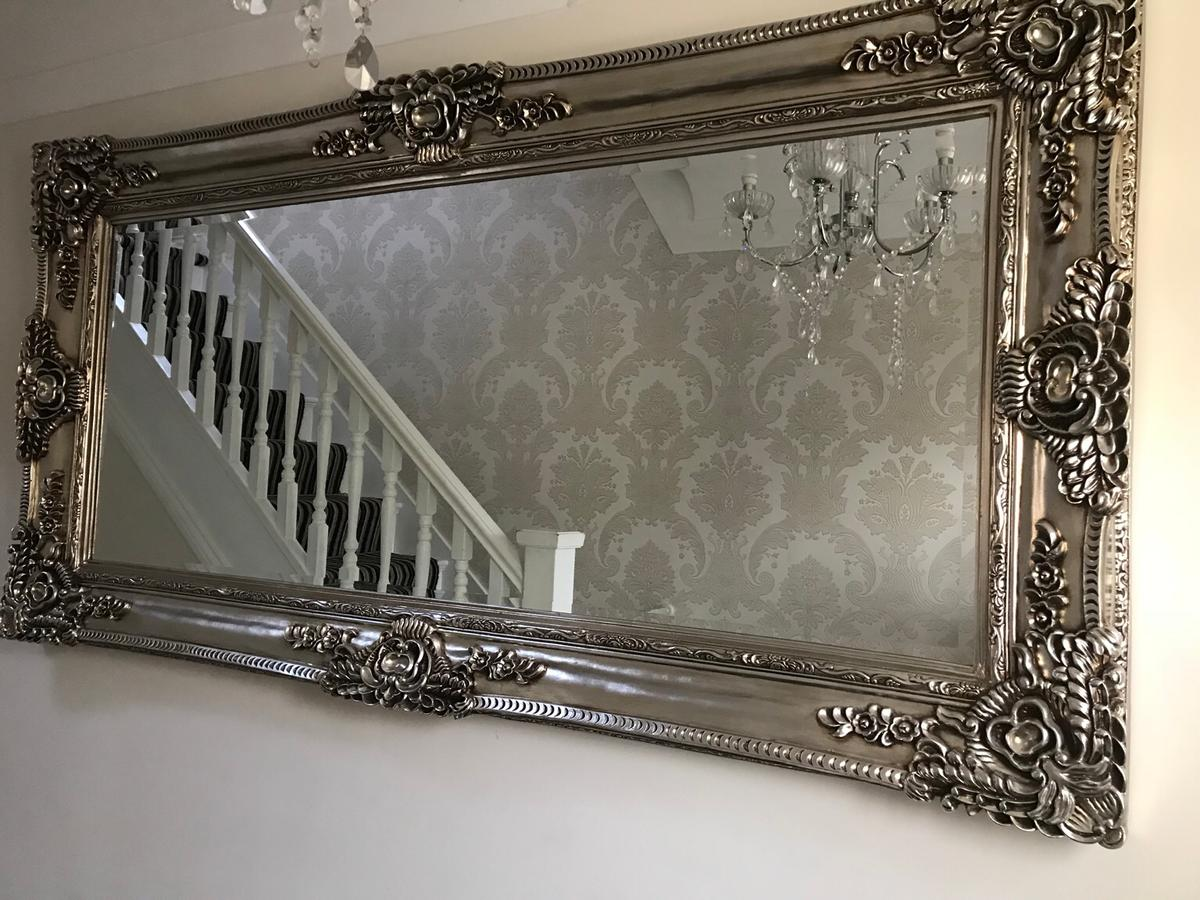 Champagne Silver Ornate Mirror 7ft X 3ft In L12 Liverpool For 150 00 For Sale Shpock