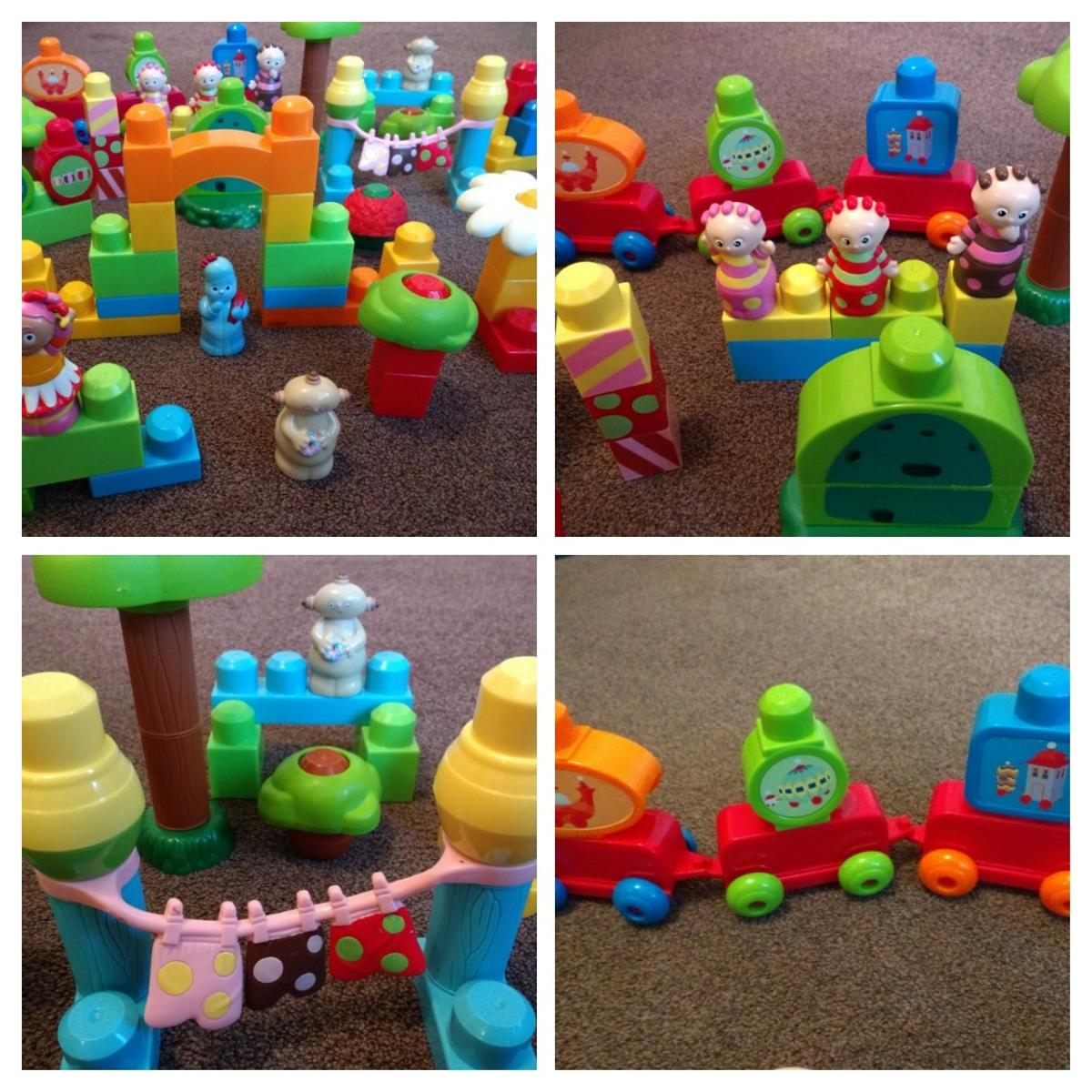 RARE MEGA BLOKS IN THE NIGHT GARDEN SETS in B8 Sandwell for