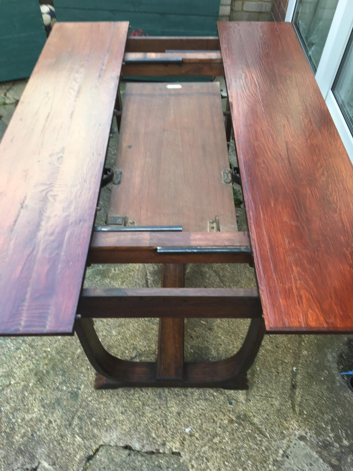 Antique Ee Zi Way Extended Table In TW47bx Middlesex For ...