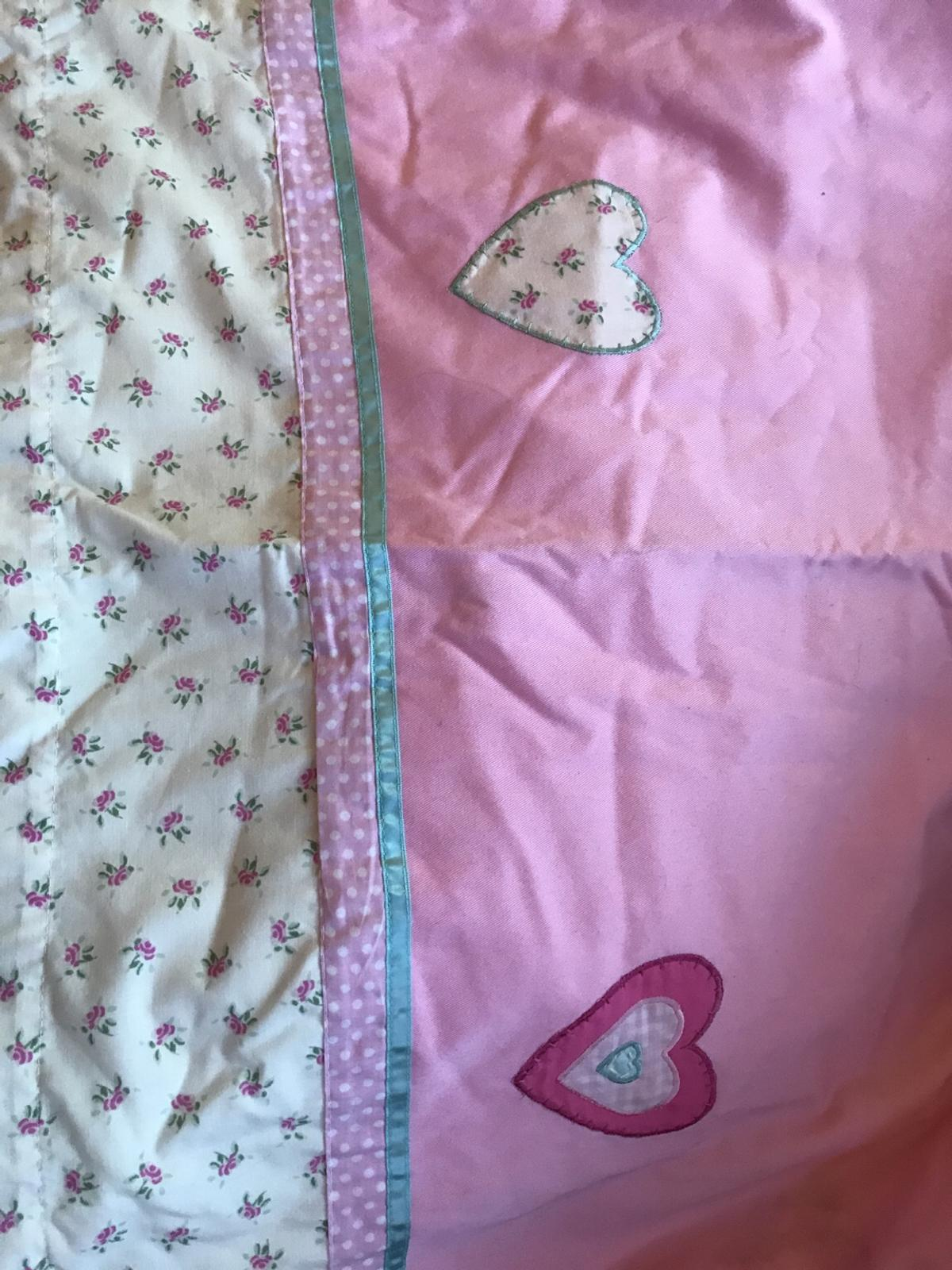 Next Girls Pink Curtains Flowers Hearts In Kt14 Runnymede For 12 00 For Sale Shpock