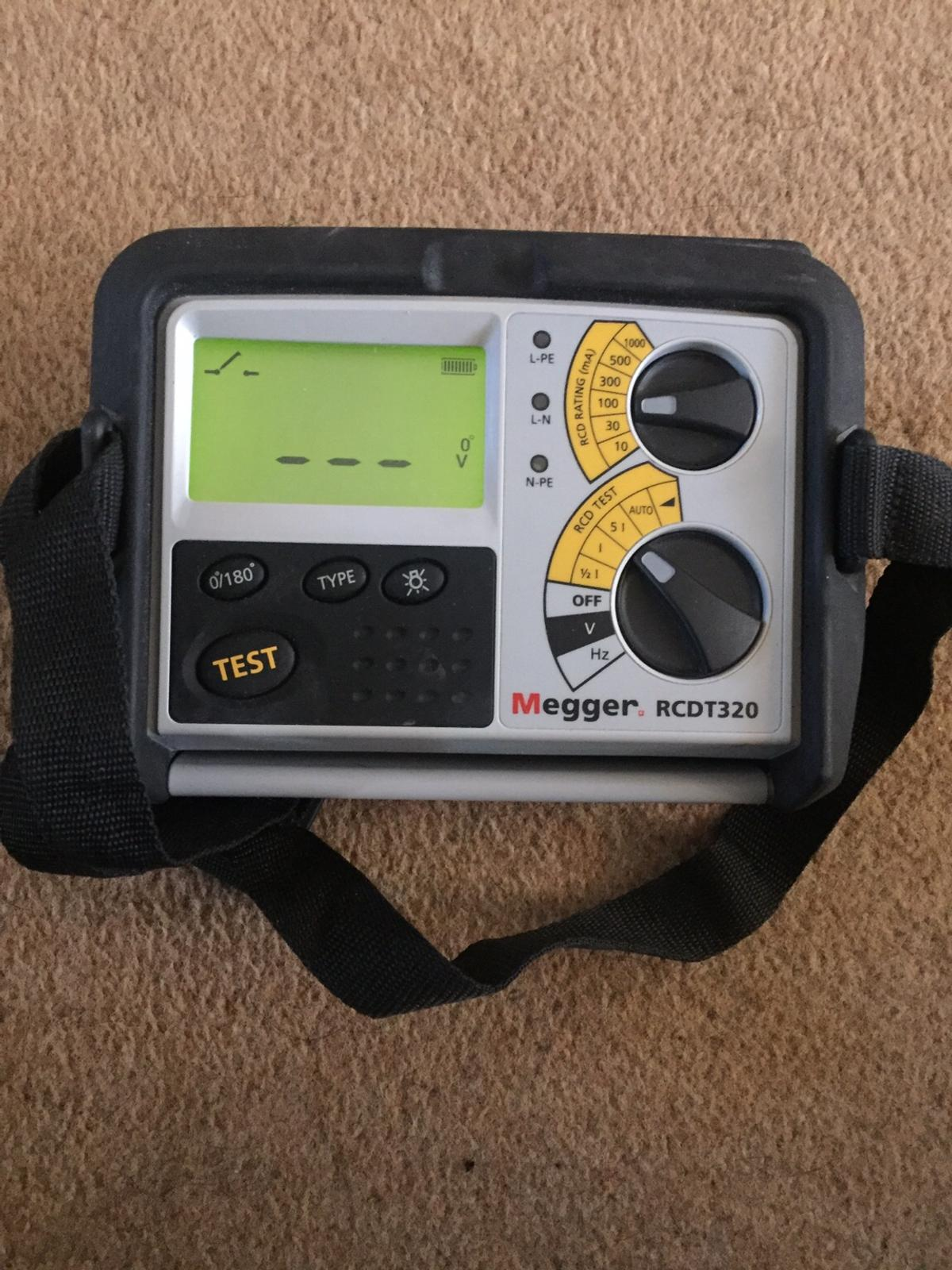MEGGER TESTER KIT IN CASE in DY2 Dudley for £200 00 for sale