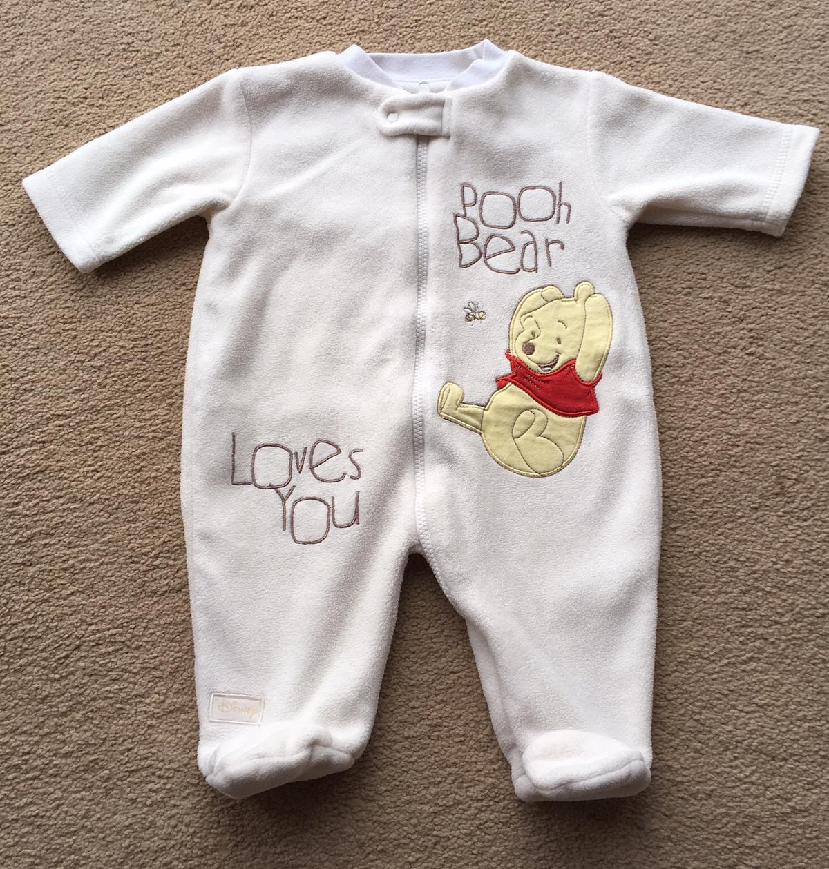 Fleece baby sleepsuit first size in DY8 Sandwell for £8.8 for