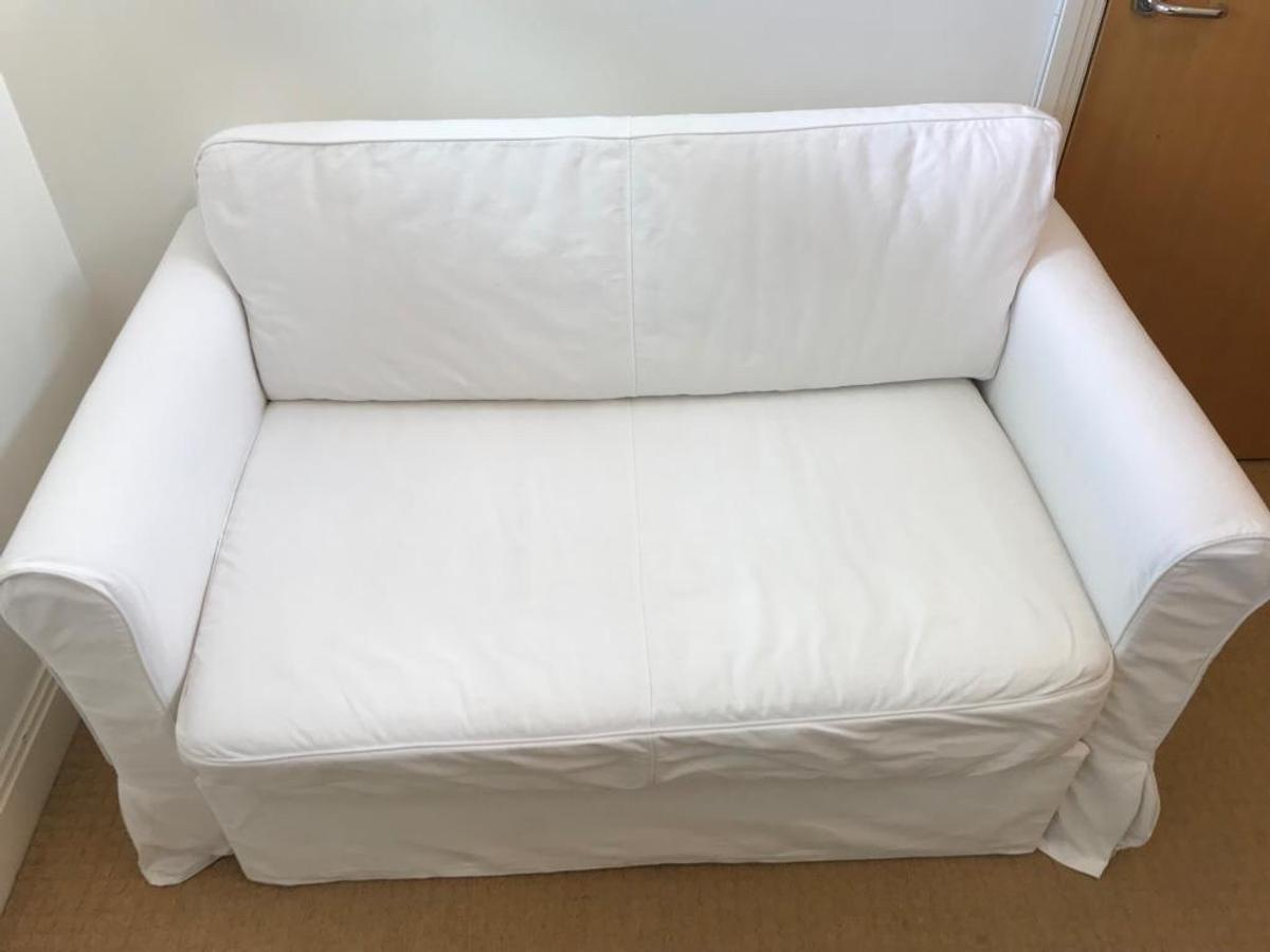 Groovy Sofa Bed White Ikea Hagalund In Se16 London For 100 00 For Bralicious Painted Fabric Chair Ideas Braliciousco