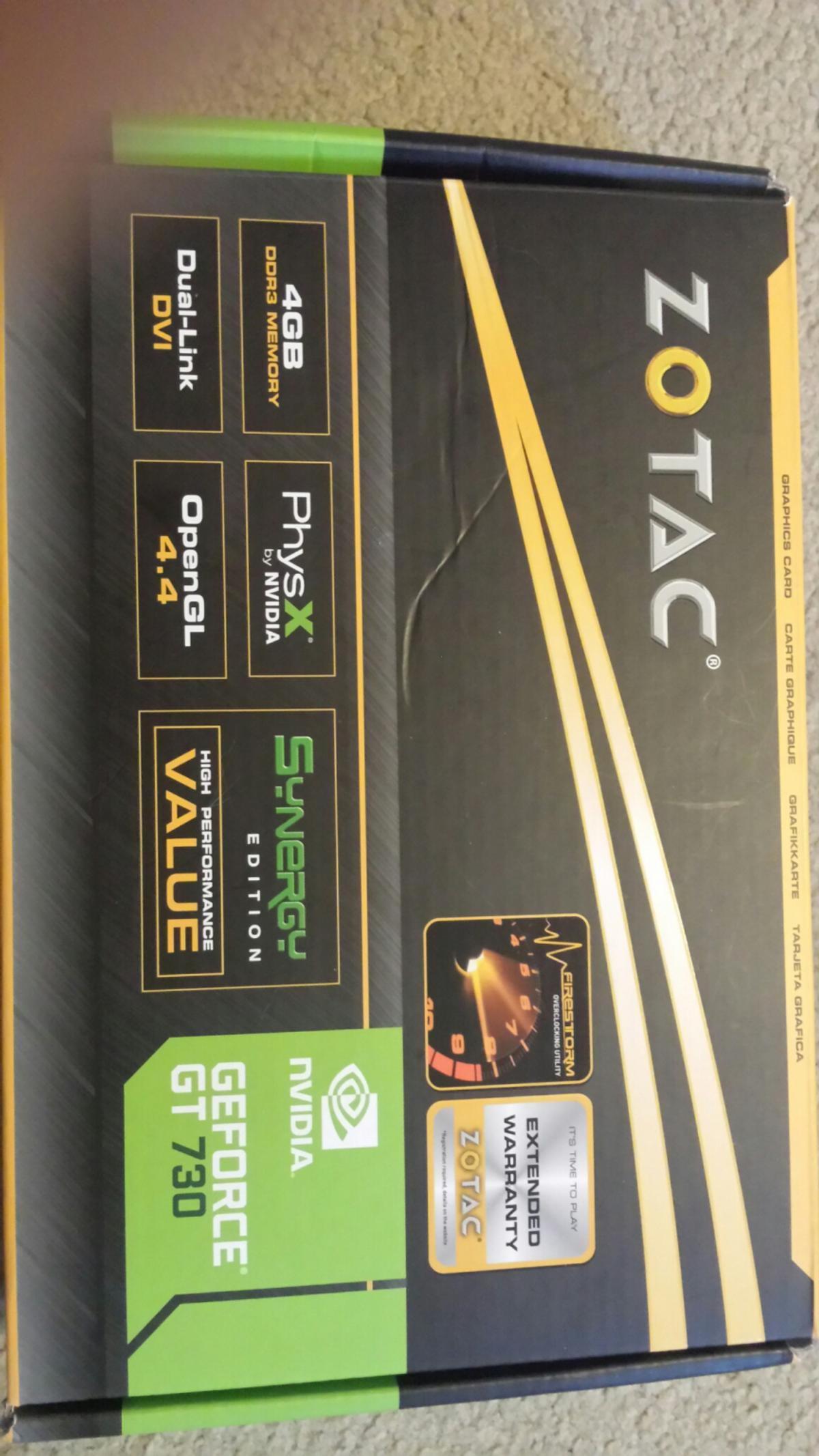 GeForce GT 730 4gb dx12 gpu in IP4 Ipswich for £35 00 for