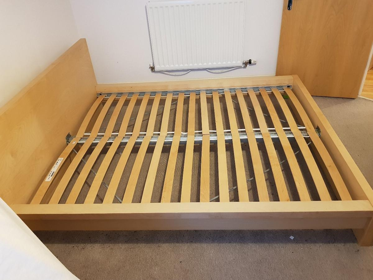 Ongekend Ikea malm bed frame in beech in MK8 Weald for £97.00 for sale - Shpock JY-55