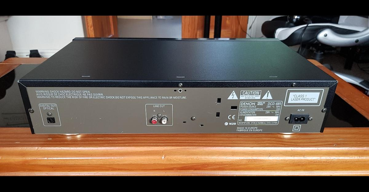 Denon DCD-685 CD player in LL18 Asaph for £25 00 for sale - Shpock