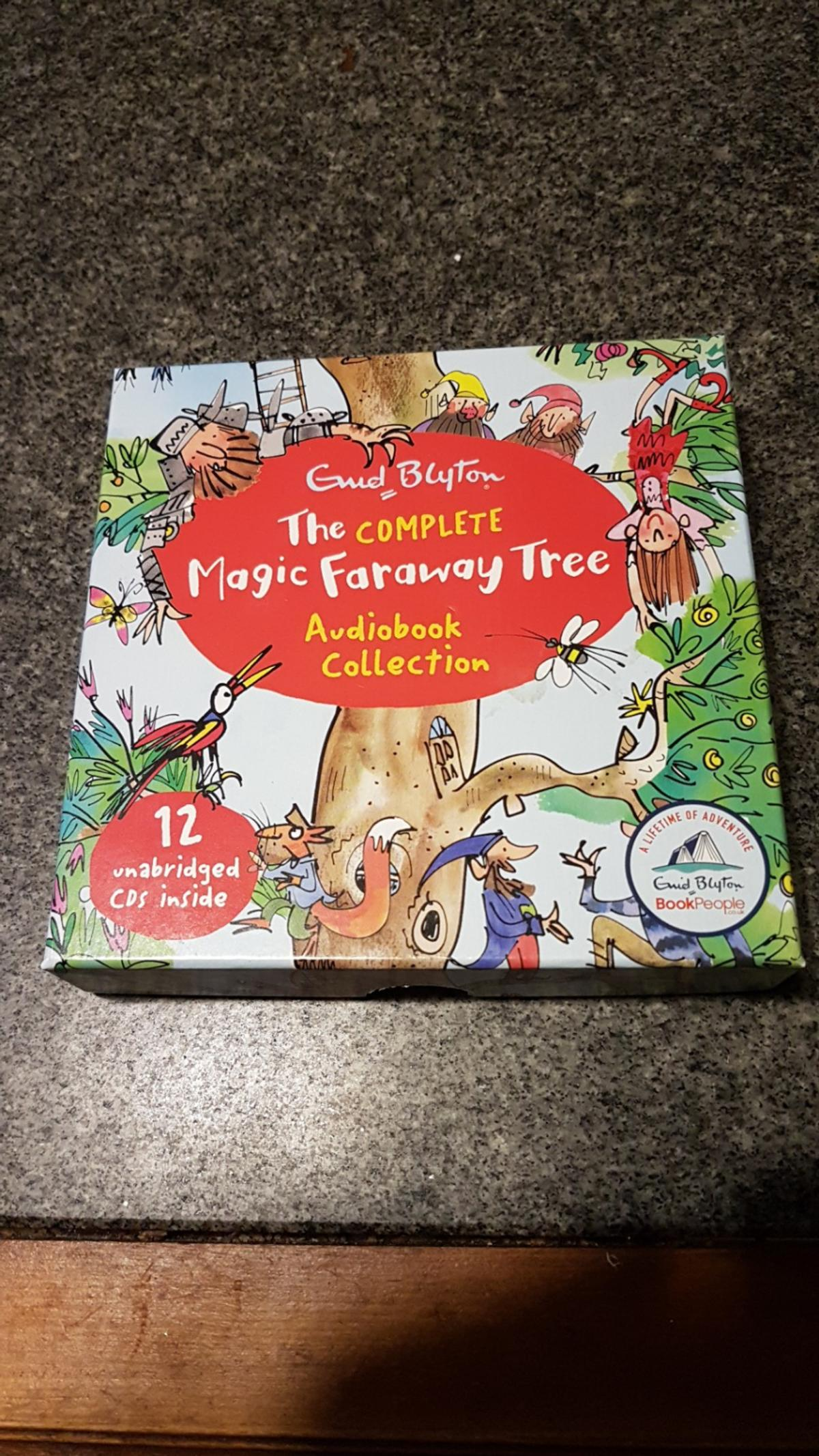 The complete Magic faraway tree audio book co in Calcoed for