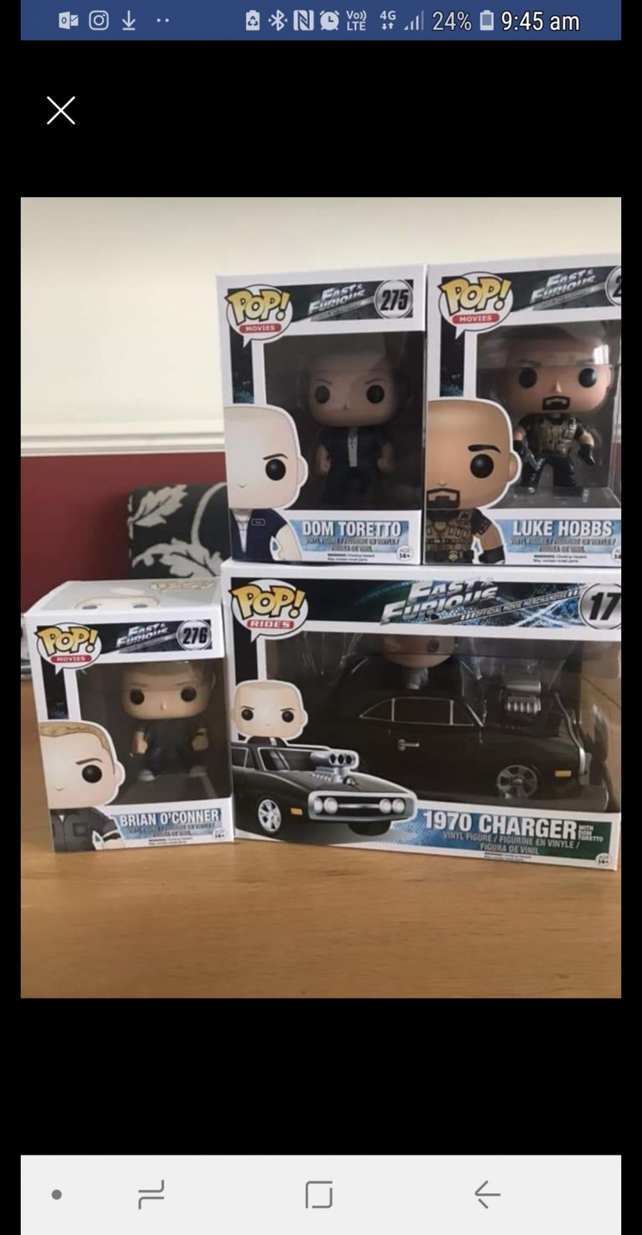 Pop Vinyl Fast And Furious No 17 Dom Car In Bournmoor Fur 25 00
