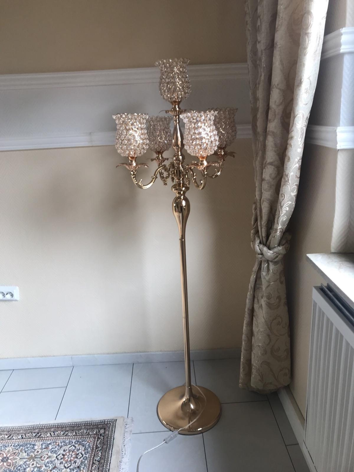 Stehlampe Gold In 69190 Walldorf For 130 00 For Sale Shpock