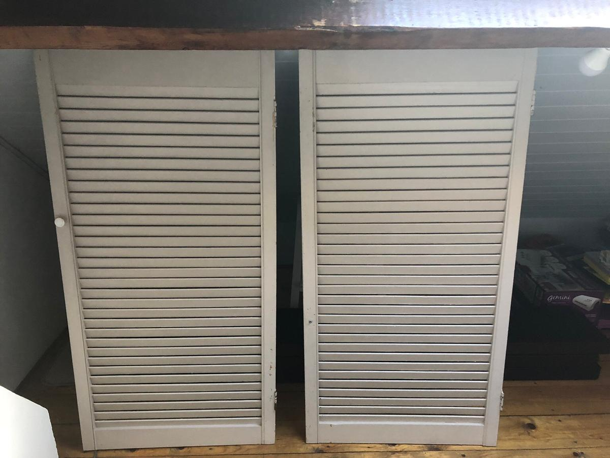 Vintage French Blinds Shutters Wooden Doors In Nw10 Brent
