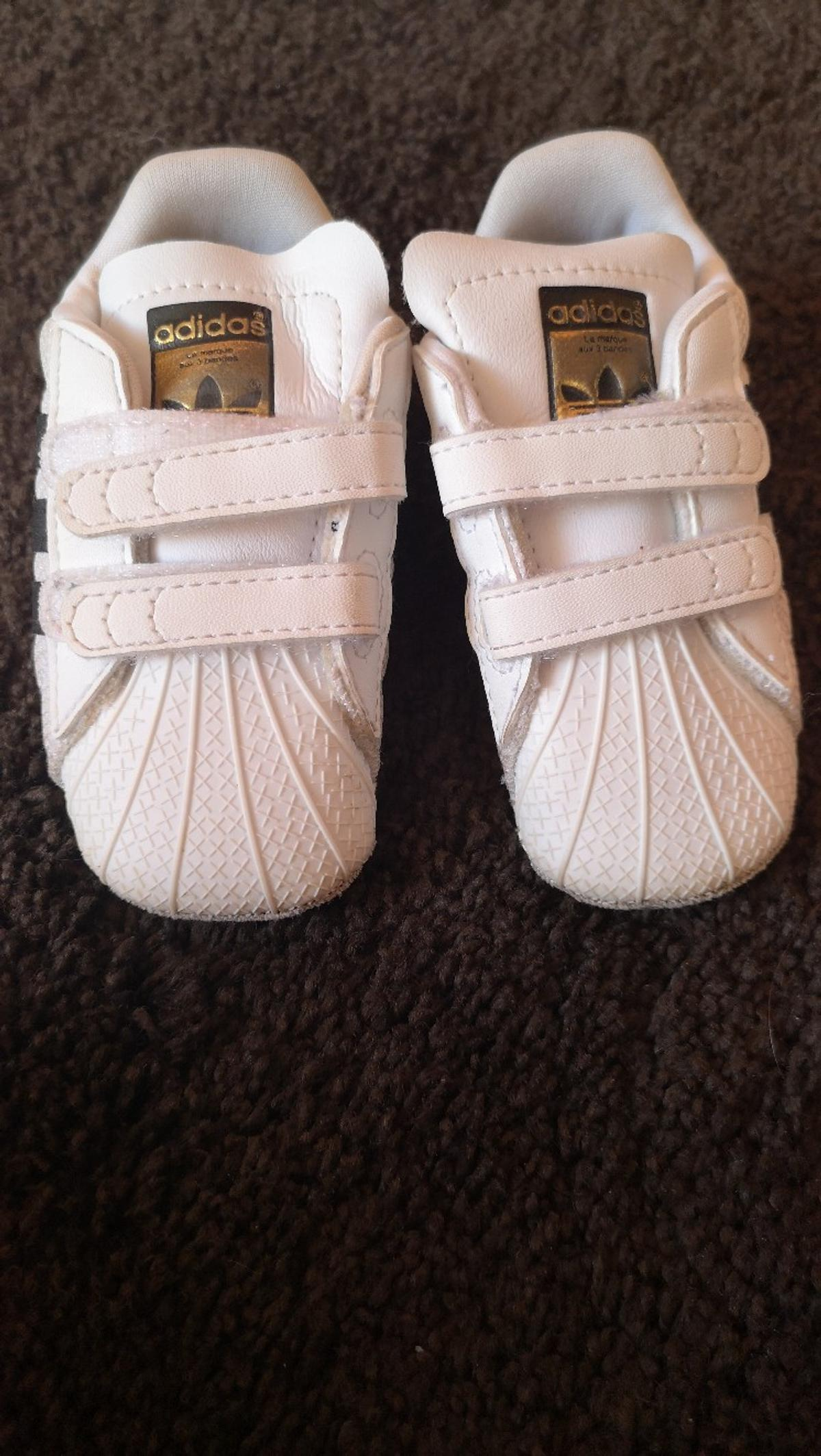 premium selection d04bc 4d2fc Baby superstars in Leicester for £7.00 for sale - Shpock