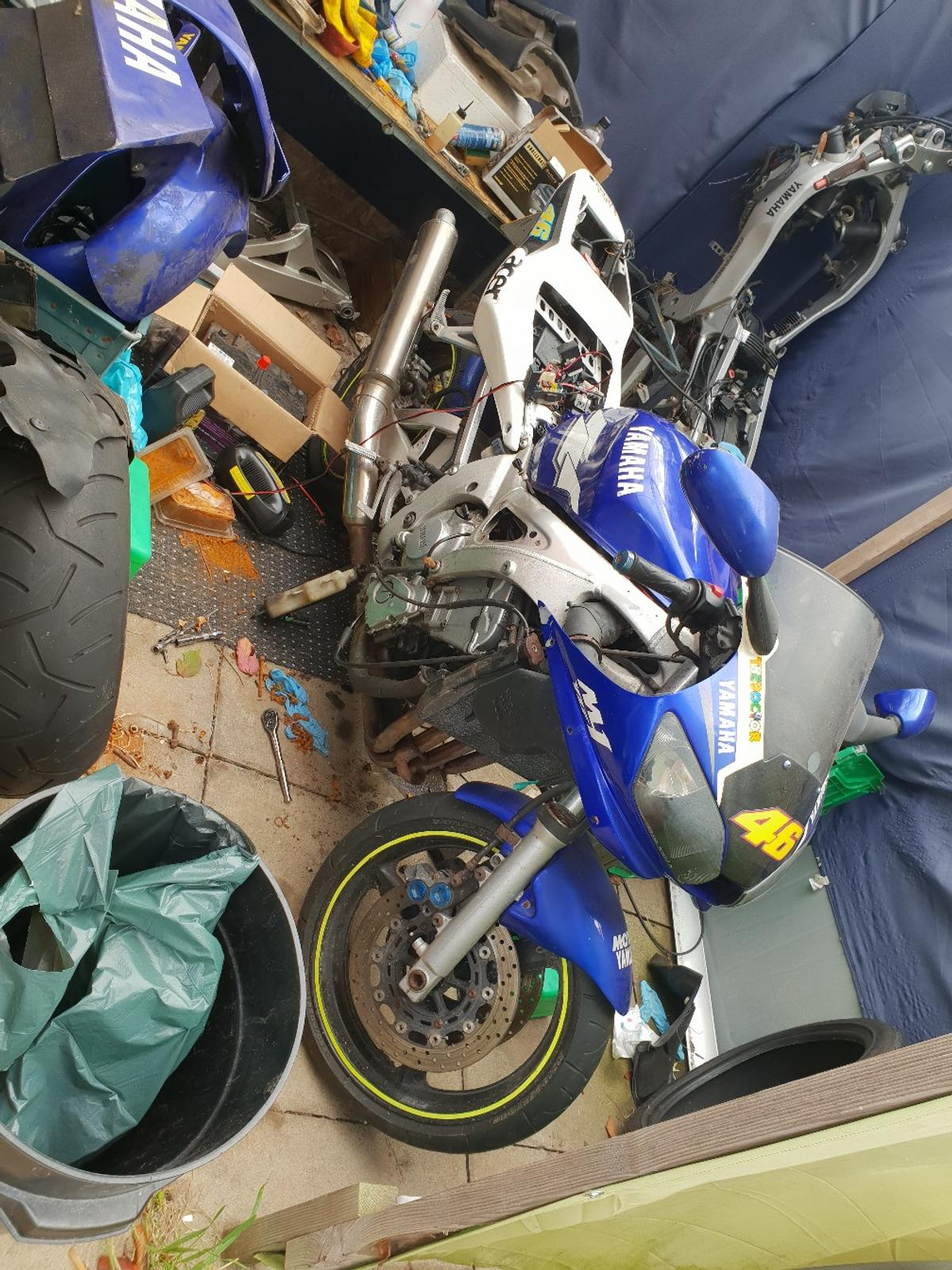Breaking 99 Yamaha R6 5eb in NG5 Nottingham for £10 00 for