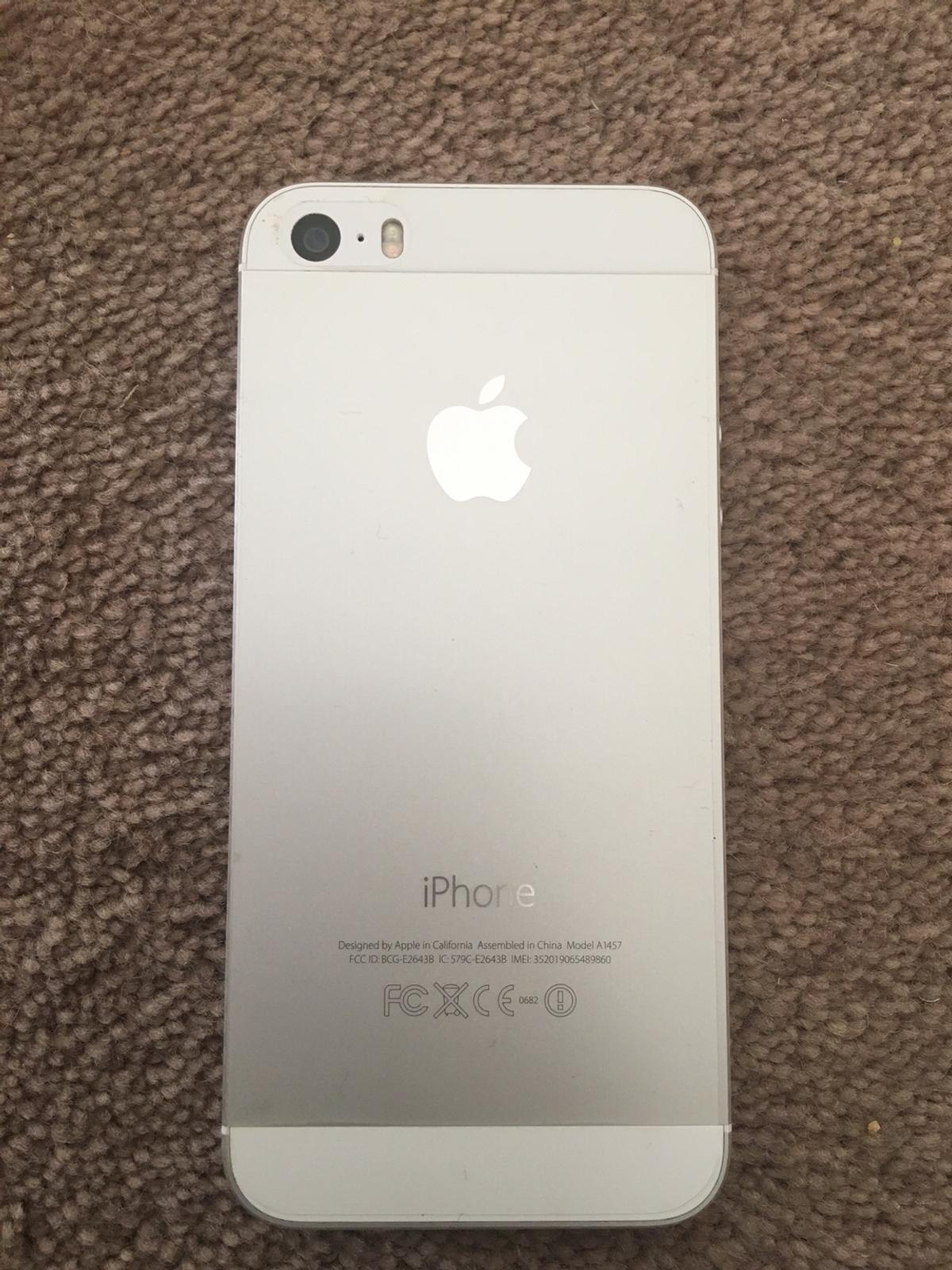Nieuw Apple IPhone 5s - Silver 16GB in MK12 Wolverton for £45.00 for SC-18