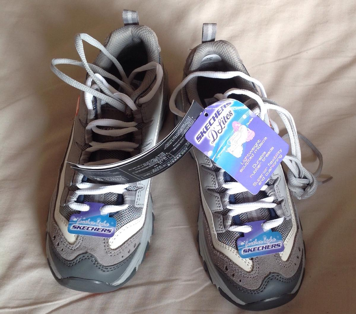 skechers memory foam trainers uk