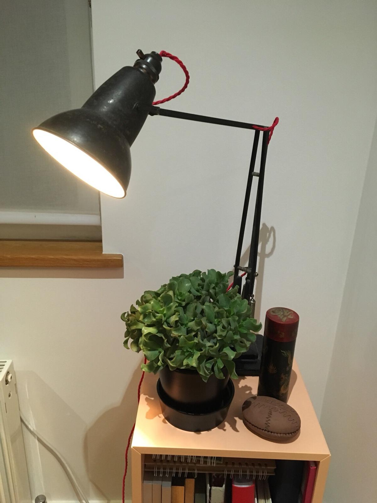 Rewire anglepoise lamp