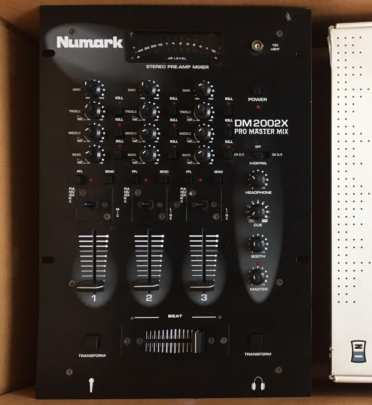DJ Mixer - Numark DM2002X Pro Master Mix in Doncaster for
