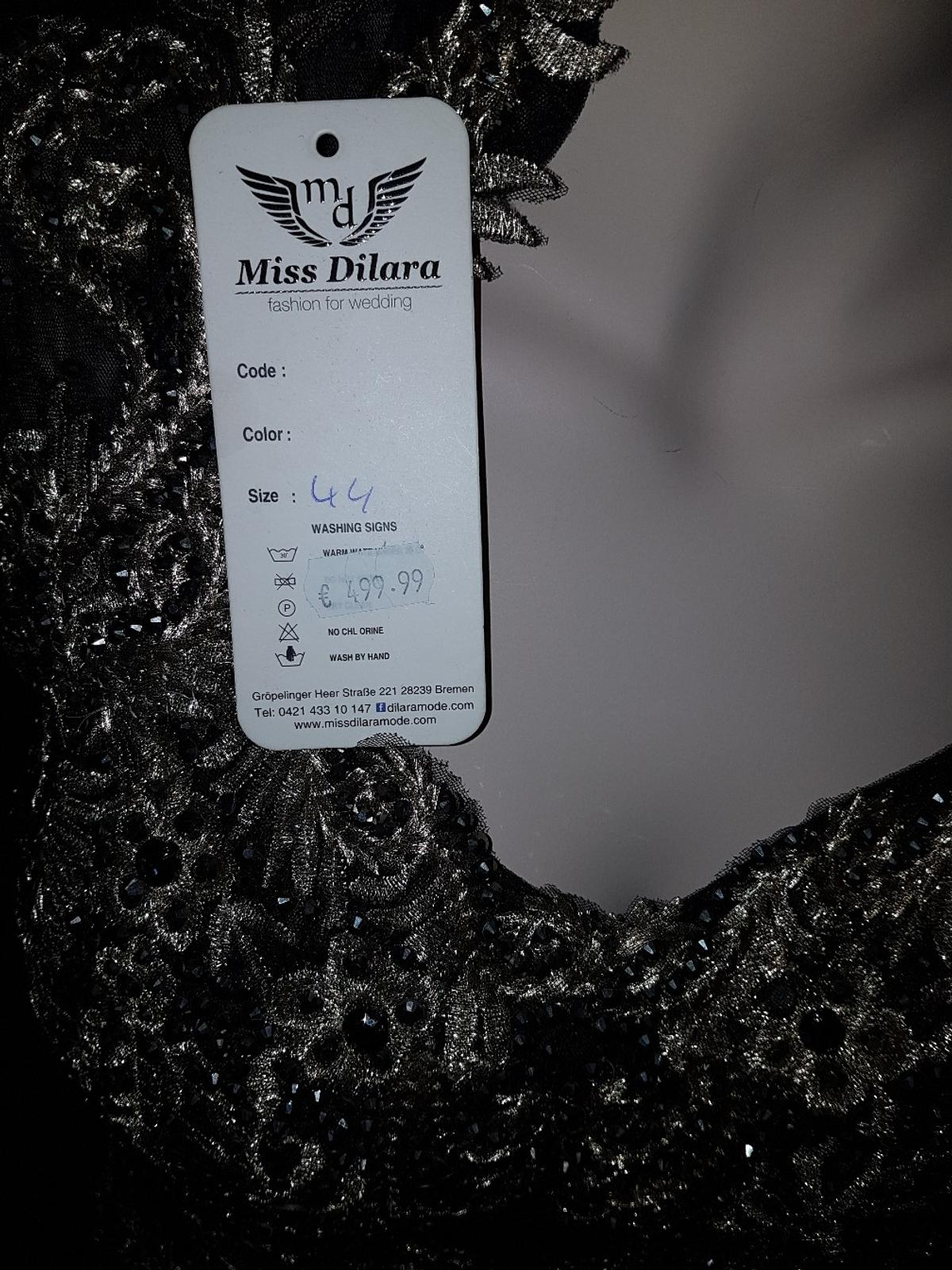 abendkleid schwaz gold in 28779 bremen for €270.00 for sale