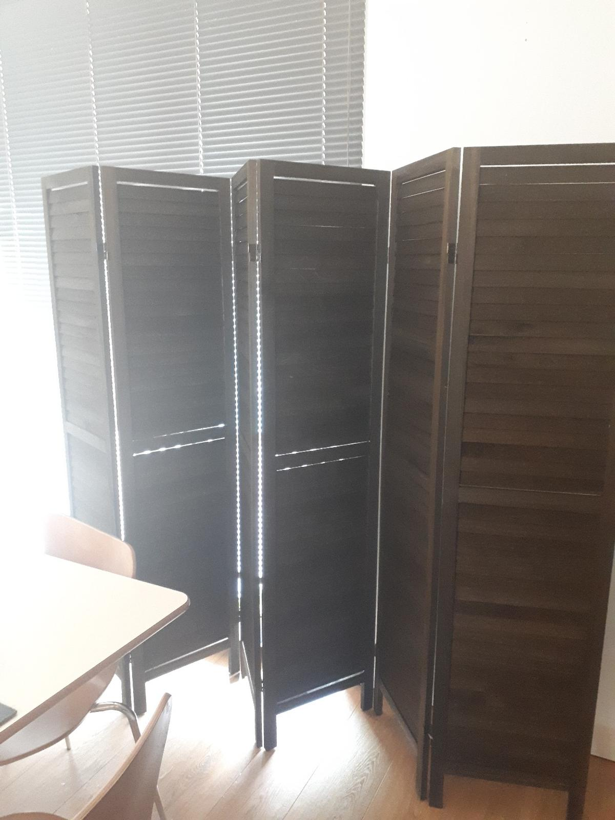 Miraculous Dark Wood Room Divider Screen 6 Panel In L2 Liverpool For Download Free Architecture Designs Crovemadebymaigaardcom