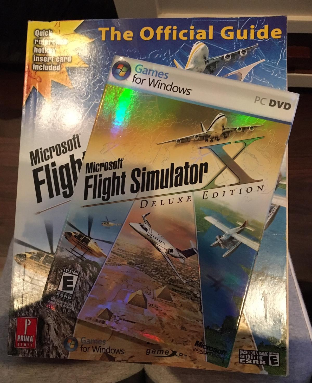 Flight simulator games for windows