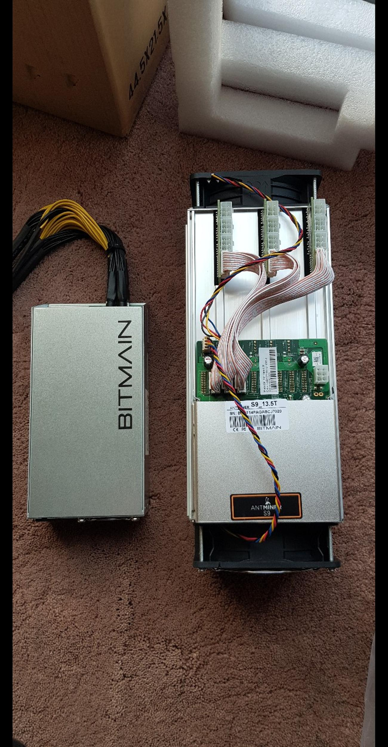 Overclock upto 18 6TH-S9 Antminer Power Suppy in NW10 London