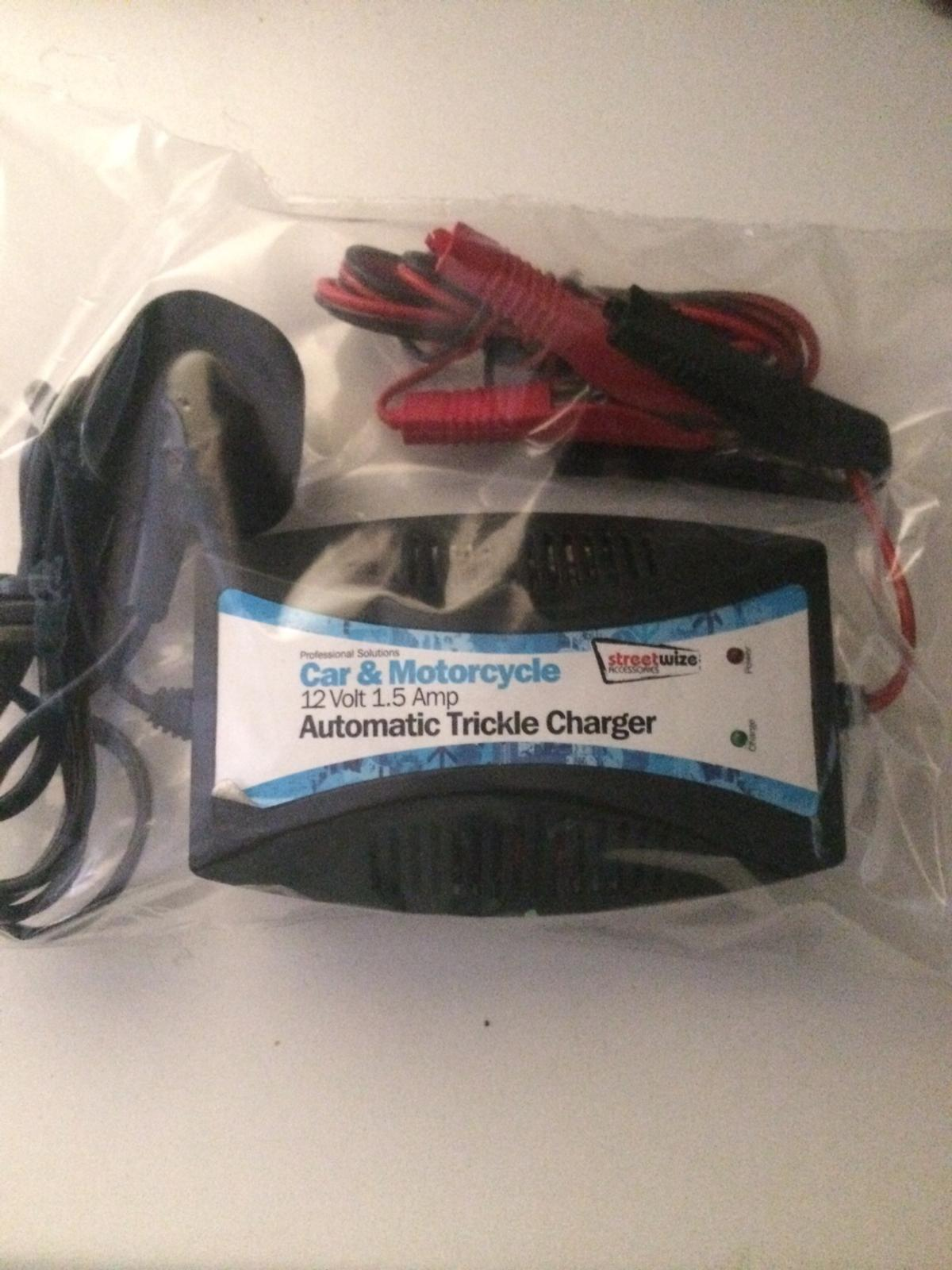 12Volt battery charger carbike