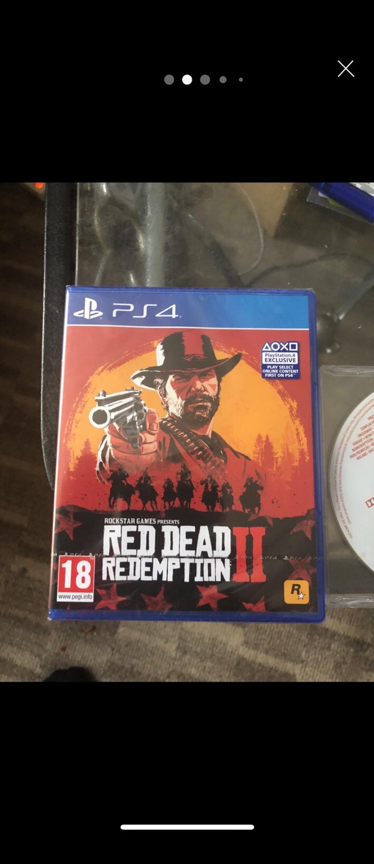 Red dead redemption 2 -PS4