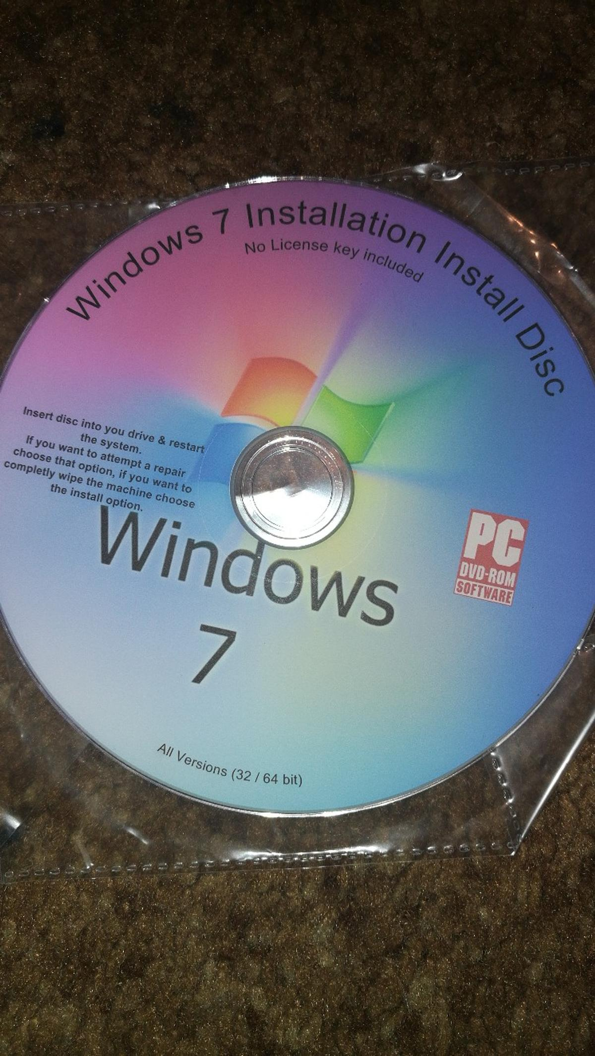 how do i repair windows 7 with installation disc